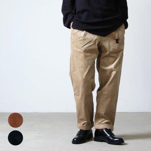 [THANK SOLD] GRAMICCI (グラミチ) CORDUROY TUCK TAPERED PANTS / コーデュロイタックテーパードパンツ