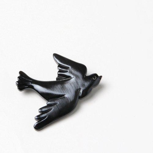 si-si-si (スースースー) BIRD 水牛ブローチ