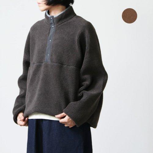 Graphpaper (グラフペーパー) Wool Boa High Neck Pull Over / ウールボアハイネックプルオーバー