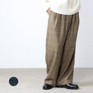 [THANK SOLD] is-ness (イズネス) COJ NU WIDE EZ PANTS / シティオジサン NU ワイドイージーパンツ