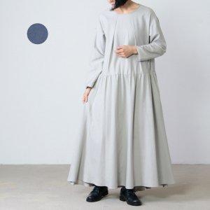 si-si-si (スースースー) コットンウールギャザードレス