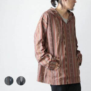 South2 West8 (サウスツーウエストエイト) Mexican Parka - Cotton Cloth / Ikat Pattern / メキシカンパーカー イカットパターン