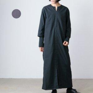 THE HINOKI (ザ ヒノキ) コットンネップパラシュートクロスレイヤードスリーブプルオーバードレス
