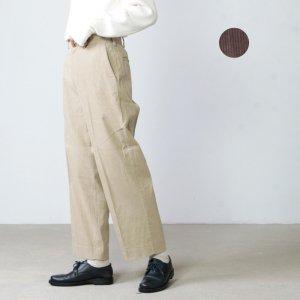 YAECA (ヤエカ) CORDUROY PANTS CREASED / コーデュロイパンツクリース