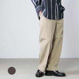 YAECA (ヤエカ) CHINO CLOTH PANTS CREASED CORDUROY / チノクロスパンツ クリースド コーデュロイ
