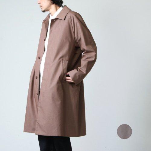 YAECA (ヤエカ) STAINCOLLAR COAT REGULAR / ステンカラーコート