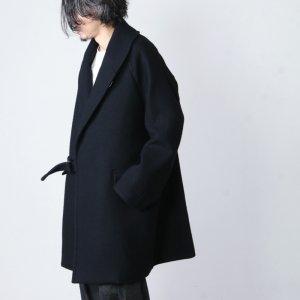 COMOLI (コモリ) ウール ショールカラーコート