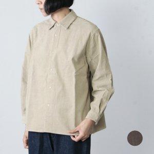 YAECA (ヤエカ) COMFORT SHIRT RELAX SQUARE / コンフォートシャツリラックススクエア