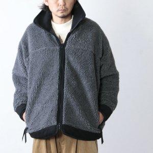 [THANK SOLD] is-ness (イズネス) REVERSIBLE QUILTED FLEECE JACKET / リバーシブルキルテッドフリースジャケット
