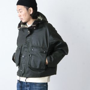 KAPTAIN SUNSHINE (キャプテンサンシャイン) Made by Barbour Field Short Hoody Jacket / フィールドショートフーディー