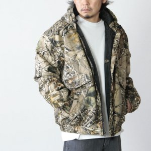 OTHER BRAND (アザーブランド) World Famous Sports Cotton Insulated Hooded Jacket / フーデッドジャケット