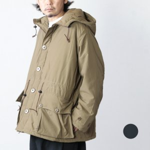 BURLAP OUTFITTER (バーラップアウトフィッター) BUTTON FRONT PARKA / ボタンフロントパーカー