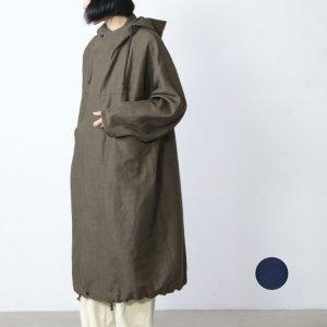FACTORY (ファクトリー) 綿麻 朱子織モッズコート