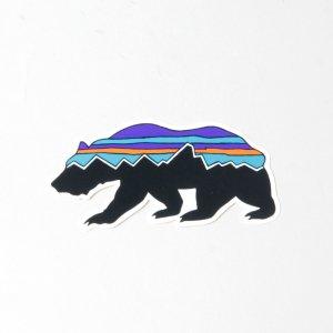 PATAGONIA (パタゴニア) Fitz Roy Bear Sticker / フィッツ ロイ ベア ステッカー