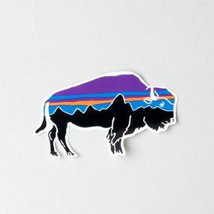 PATAGONIA (パタゴニア) Fitz Roy bison Sticker / フィッツ ロイ バイソン ステッカー