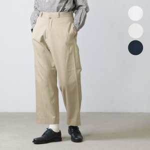 YAECA (ヤエカ) CHINO CLOTH PANTS STRAIGHT / チノクロスパンツストレート