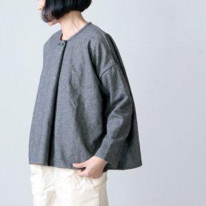 jujudhau (ズーズーダウ) DOUBLE BUTTON SHIRTS / ダブルボタンシャツ