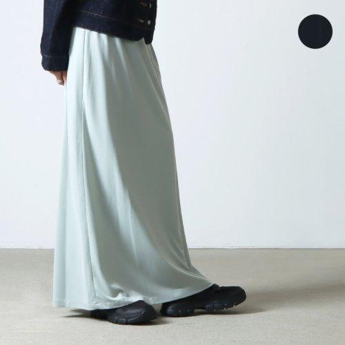 08sircus (ゼロエイトサーカス) Vintage crape maxi wrap skirt / ヴィンテージクレープマキシラップスカート
