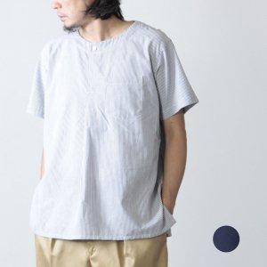 ENGINEERED GARMENTS (エンジニアードガーメンツ) MED Shirt - CP Seersucker St. / メディカルシャツ