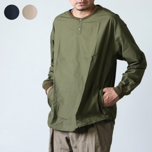 have a good day (ハブアグッドデイ) Pull over shirts For Men / ノーカラーシャツ