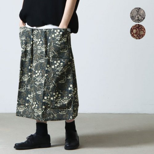 South2 West8 (サウスツーウエストエイト) String Skirt - Printed Flannel / Batik / ストリングスカート