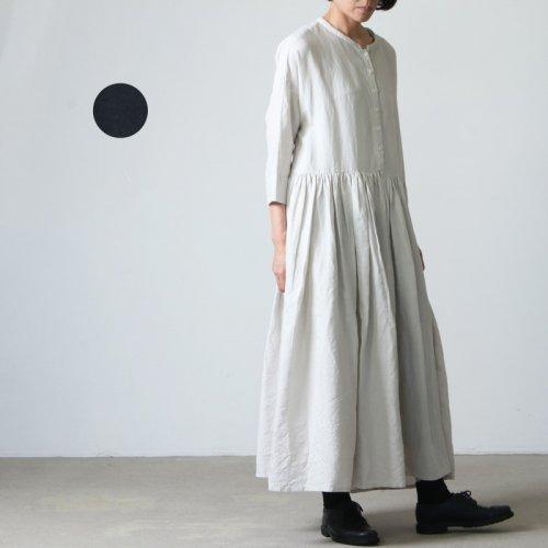 Gauze (ガーゼ) スウィッチングギャザーワンピースドレス