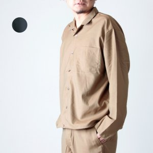 WELLDER (ウェルダー) Drawstring Shirt / ドローストリングシャツ
