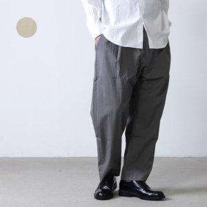 STUDIO NICHOLSON (スタジオニコルソン) SMART EASY PANTS GENTILE / スマートイージーパンツ