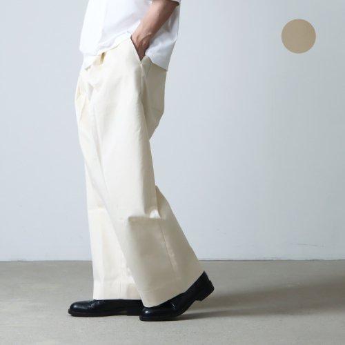 STUDIO NICHOLSON (スタジオニコルソン) VOLUME PLEAT PANTS BEN / ボリュームプリーツパンツ