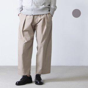 STUDIO NICHOLSON (スタジオニコルソン) CURVED EASY PANTS ASSAI / カーブドイージーパンツ