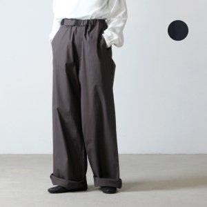 Graphpaper (グラフペーパー) Strech Typewriter Wide Cook Pants / ストレッチタイプライターワイドコックパンツ