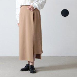 Graphpaper (グラフペーパー) Meryl Nyron Wrap Skirt / メリルナイロンラップスカート