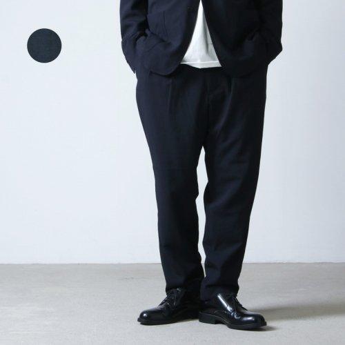COMOLI (コモリ) ウール 2タックパンツ