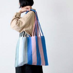 [THANK SOLD] pips (ピップス) HAMMOCK BAG blue asymmetry / ハンモックバッグブルーアシンメトリー