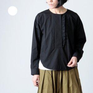 SI-HIRAI (スーヒライ) プレミアムコットンフリルシャツ