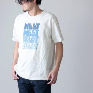 WESTOVERALLS (ウエストオーバーオールズ) GOTSU WEST T-SHIRT