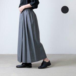 [THANK SOLD] SI-HIRAI (スーヒライ) コットンリネンラップラバースカート