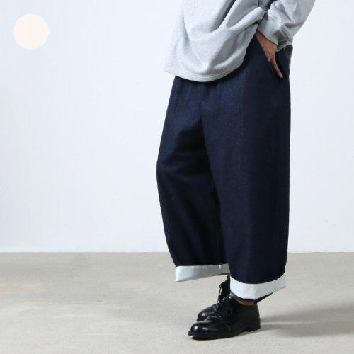 have a good day (ハブアグッドデイ) Denim volume pants For Men / デニムボリュームパンツ