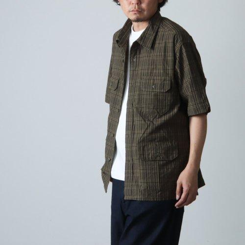 ENGINEERED GARMENTS (エンジニアードガーメンツ) Camp Shirt - Tropical Floral Print Rayon / キャンプシャツ
