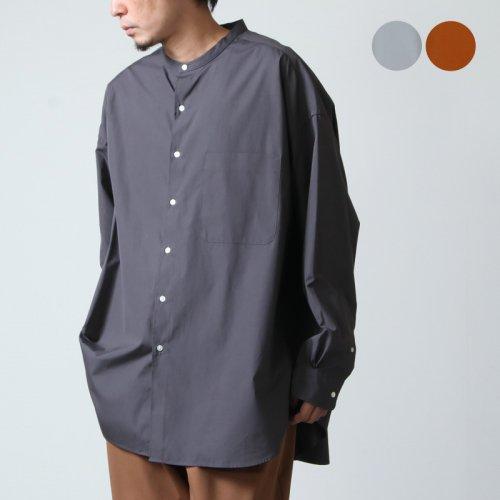 Graphpaper (グラフペーパー) THOMAS MASON  for Graphpaper Oversized Band Collar Shirt / オーバーサイズドバンドカラーシャツ