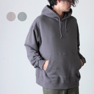 crepuscule (クレプスキュール) garment dye sweat hoodie / ガーメントダイスウェットフーディー