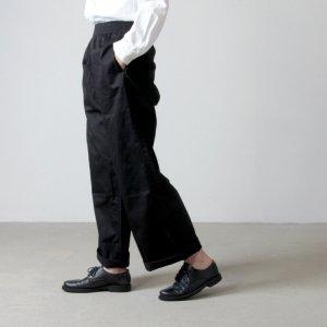 THE HINOKI (ザ ヒノキ) オーガニックコットンサテン ワイドパンツ