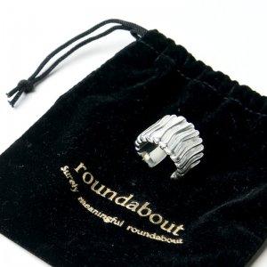 roundabout (ラウンダバウト) Silver Furrow Ring / シルバーフォローリング