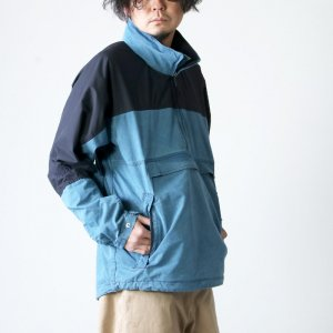 THE NORTH FACE PURPLE LABEL (ザ ノースフェイス パープルレーベル) Indigo Mountain Wind Pullover