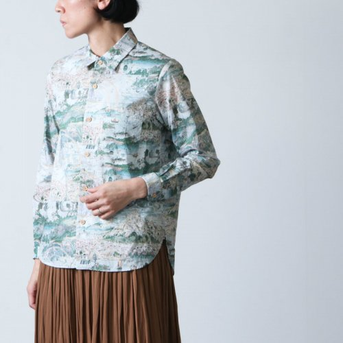 [THANK SOLD] YAECA (ヤエカ) WRITE BUTTON SHIRT / ボタンシャツ