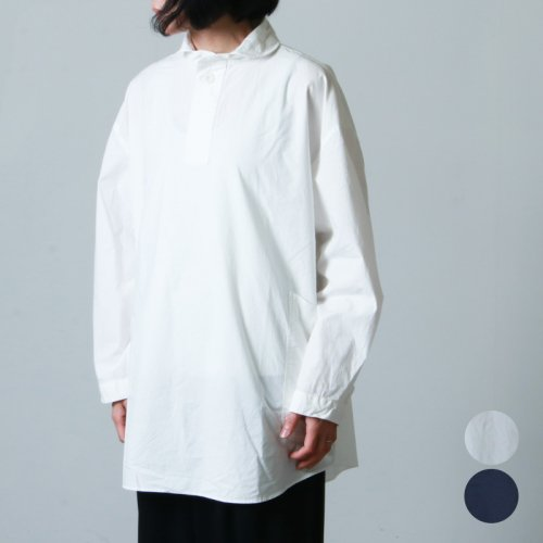 LOLO (ロロ) 定番プルオーバー型 ビックシャツ size:S