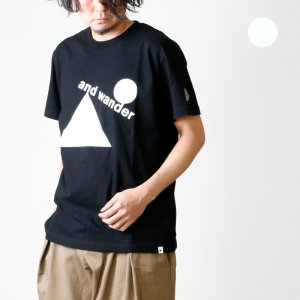 and wander (アンドワンダー) artwork T by Fumikazu Ohara for man / アートワークTシャツ メンズ