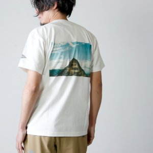 and wander (アンドワンダー) mountain photo T by Tetsuo Kashiwada for man / マウンテンフォトTシャツ メンズ