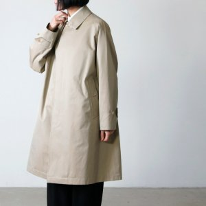[THANK SOLD] ANATOMICA (アナトミカ) SINGLE RAGLAN � S PROOFED GABARDINE Beige For Women / シングルラグランベージュ