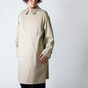 [THANK SOLD] ANATOMICA (アナトミカ) SINGLE RAGLAN � S PROOFED GABARDINE Beige For Men / シングルラグランベージュ
